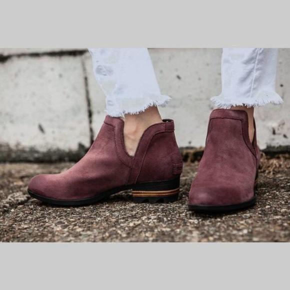 exclusive range shop best sellers great look Sorel Shoes | New W Box Lolla Cutout Booties Light Raisin | Poshmark